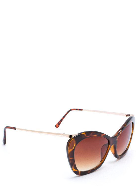 Butterfly Effect Sunglasses TORTBRN