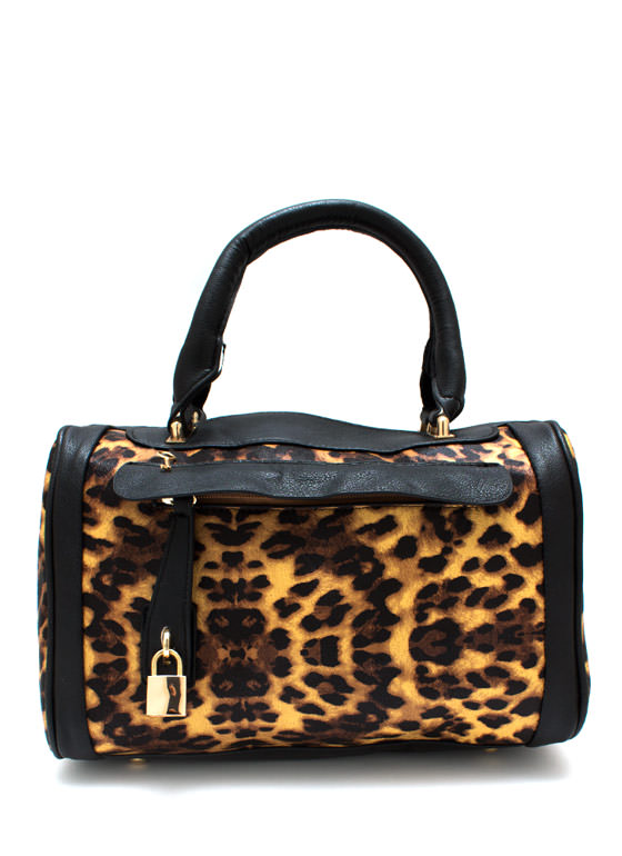 Trim And Proper Handbag BLACKCAMEL