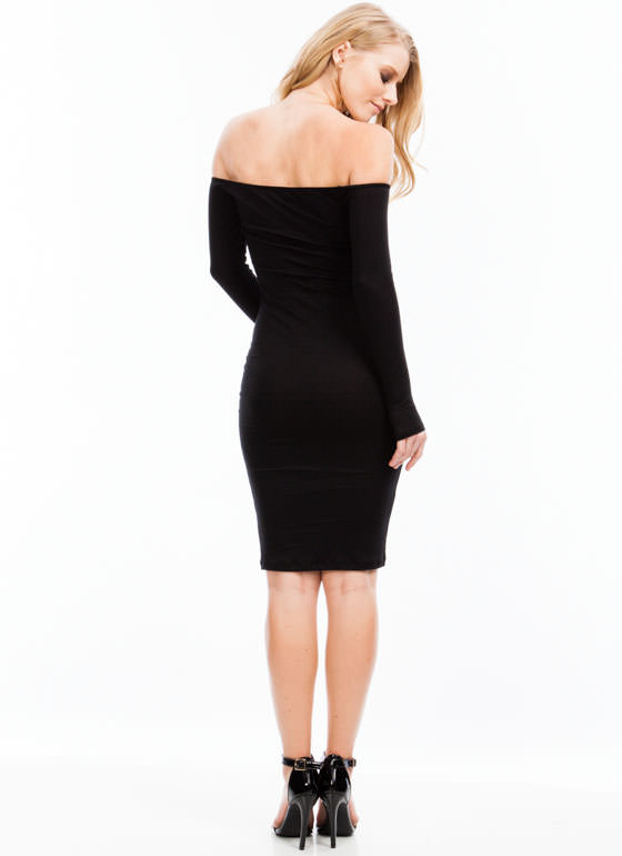 Keep It Simple Dress BLACK