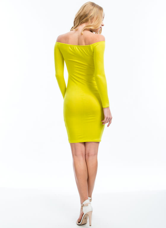 Keep It Simple Dress CITRON
