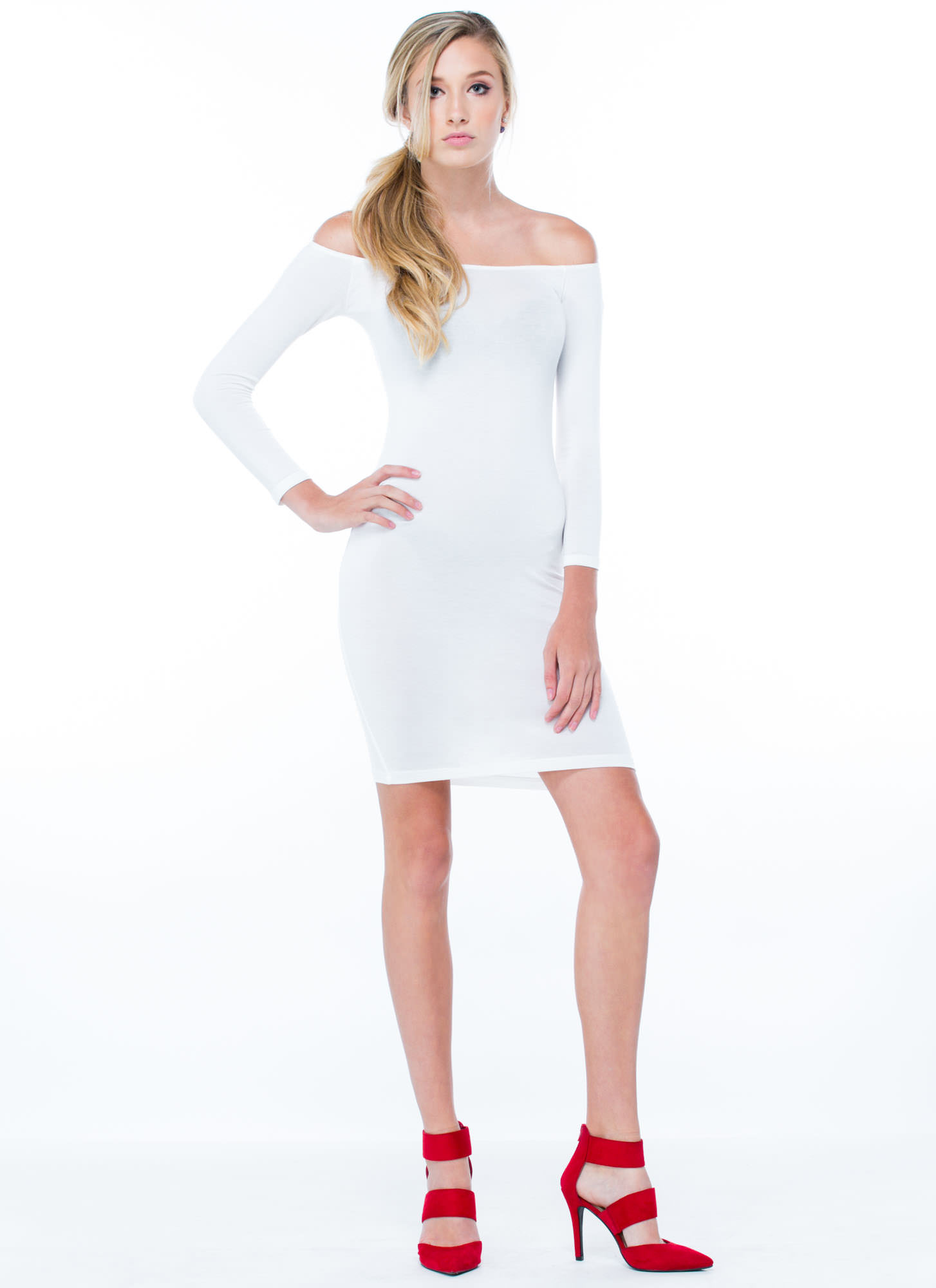 Keep It Simple Dress IVORY