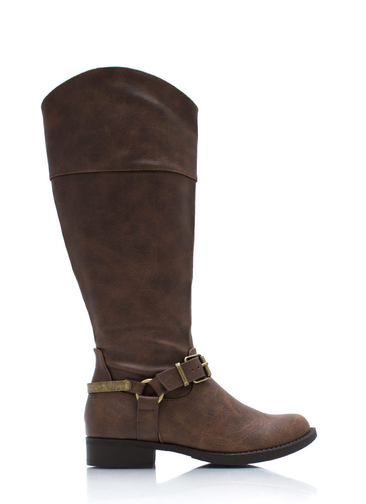 Spur Of The Moment Boots BROWN
