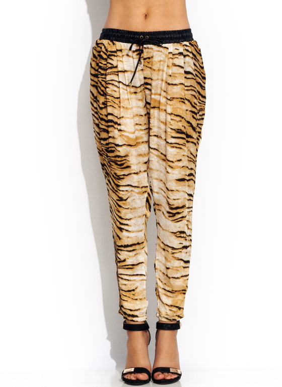 Bengal Tiger Lounge Pants BLACKTAN