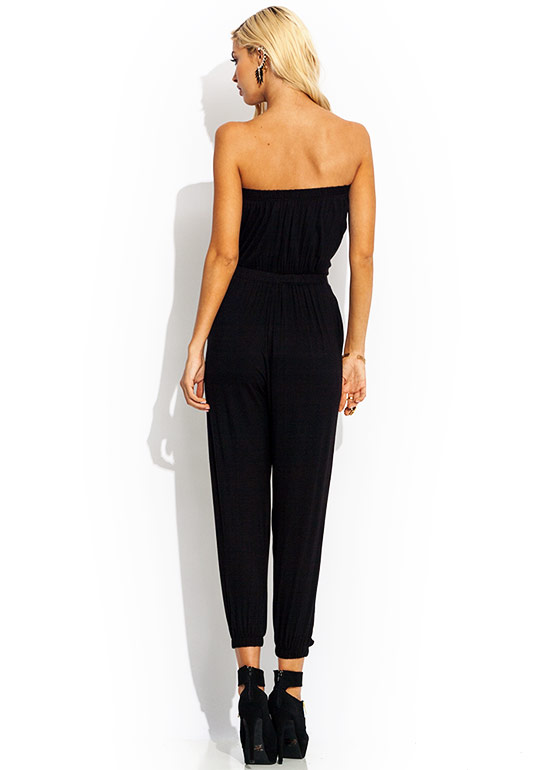 Tube Of A Kind Jumpsuit BLACK
