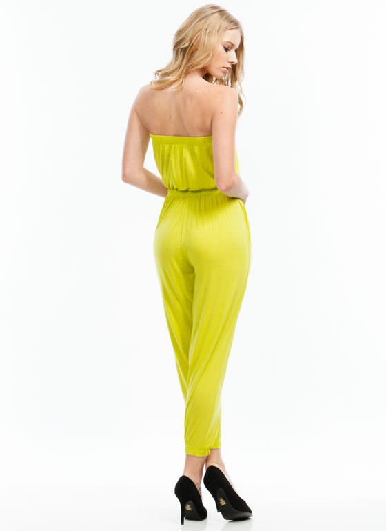 Tube Of A Kind Jumpsuit CITRON