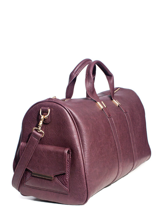 Wanderlust Duffel Bag WINEGOLD