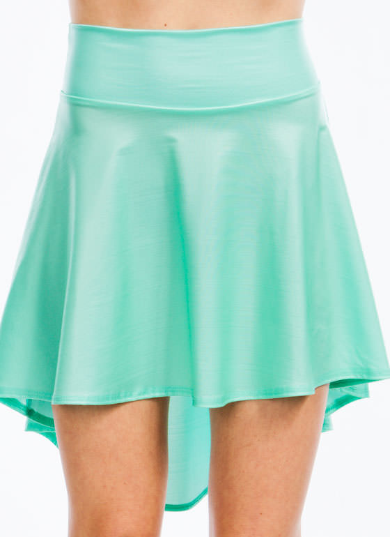 Hey Slick High Low Skirt MINT