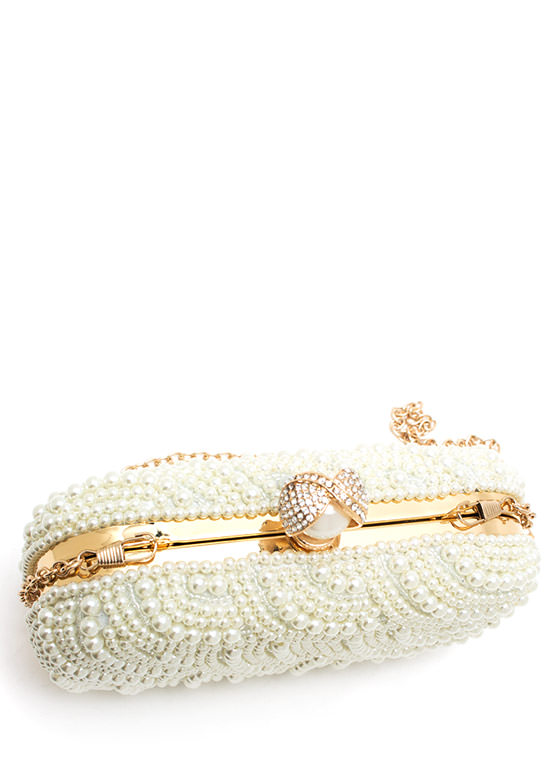 Pacific Pearl Clutch IVORYGOLD