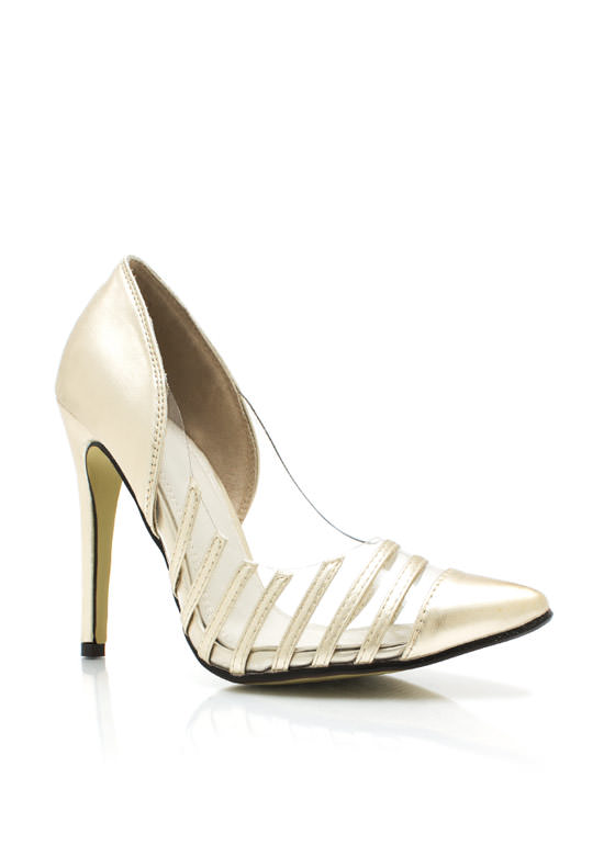 Keep It Trim Pumps LTGOLD