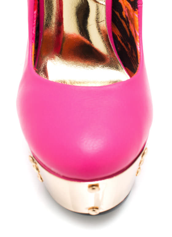 Step Up To The Plate Platforms PINK