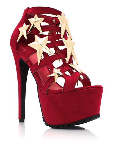 Caged UR A Star Heels RED