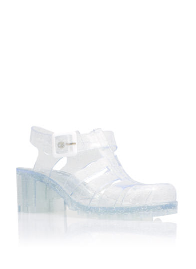 Clear 2 Me Jelly Sandals CLEAR