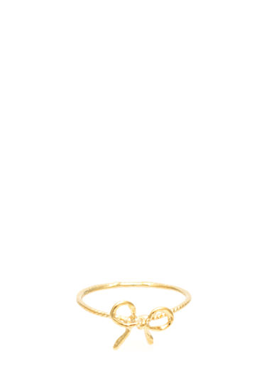 Tie A Bow Ring GOLD