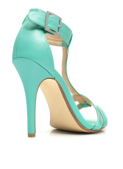 Fit Two A T Ankle Strap Heels MINT