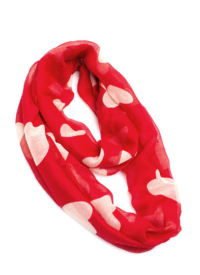 Heart 2 Heart Infinity Scarf RED (Final Sale)