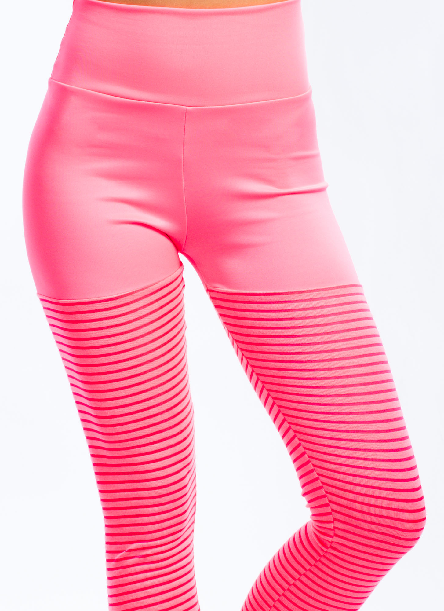 Sheer Thing Leggings NEONPINK (Final Sale)