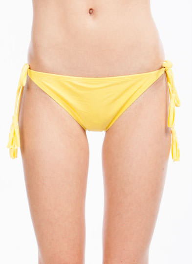 Fringe Benefits String Briefs YELLOW