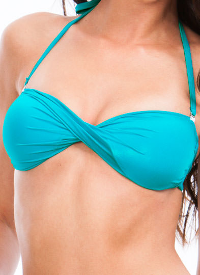 Island Girl Bikini Set  TEAL (Final Sale)