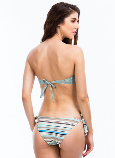 Geometric Tile Bikini Set GREENMULTI (Final Sale)