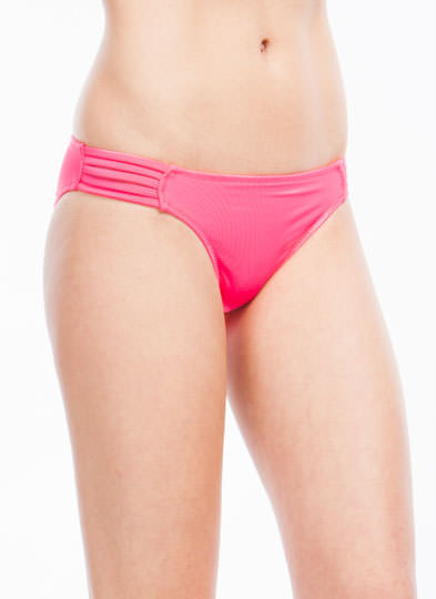 What's Strap-pening Bikini Bottoms NEONPINK