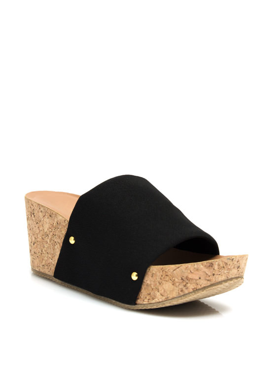 Slip It To 'Em Wedges BLACK