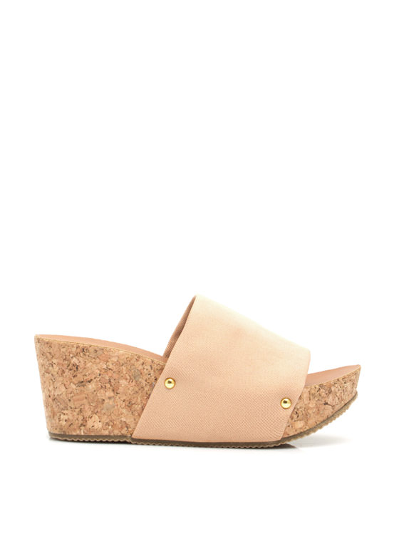 Slip It To 'Em Wedges NUDE