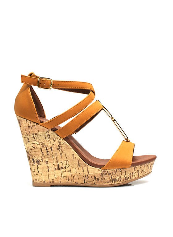 Double Plate Accent Wedges CAMEL