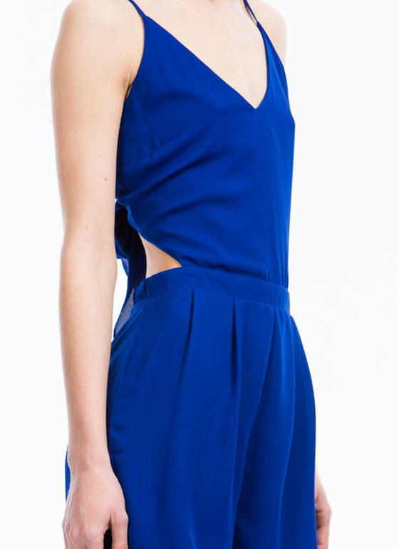 Tied For First Romper BLUE