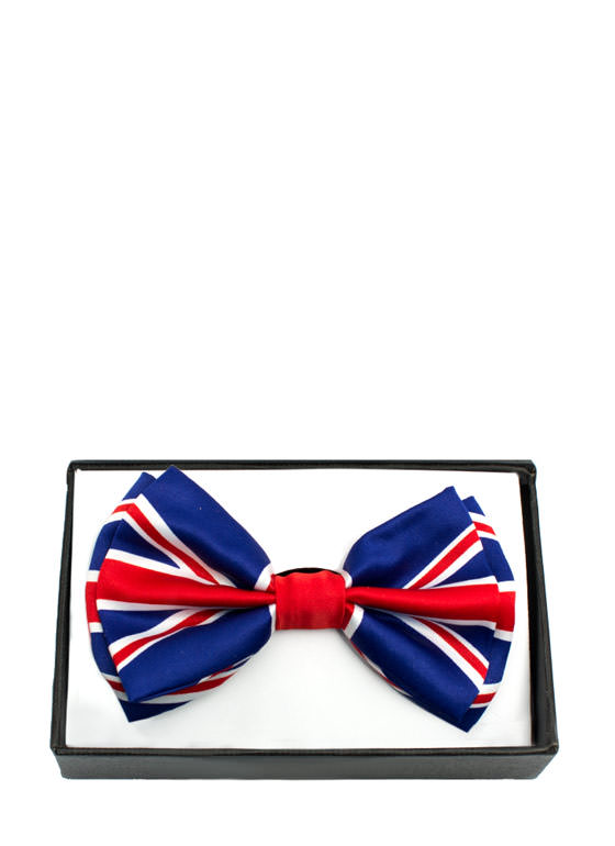 Patriotic Flag Design Bowtie UKFLAG