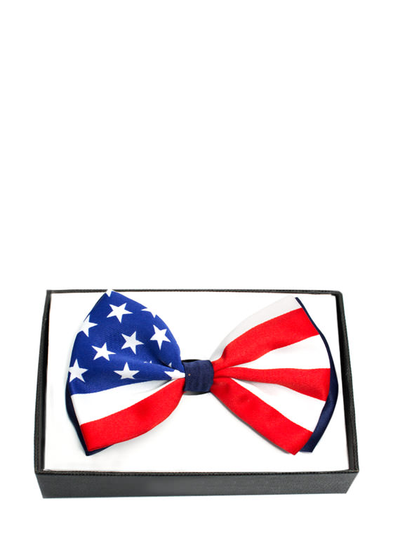 Patriotic Flag Design Bowtie USFLAG