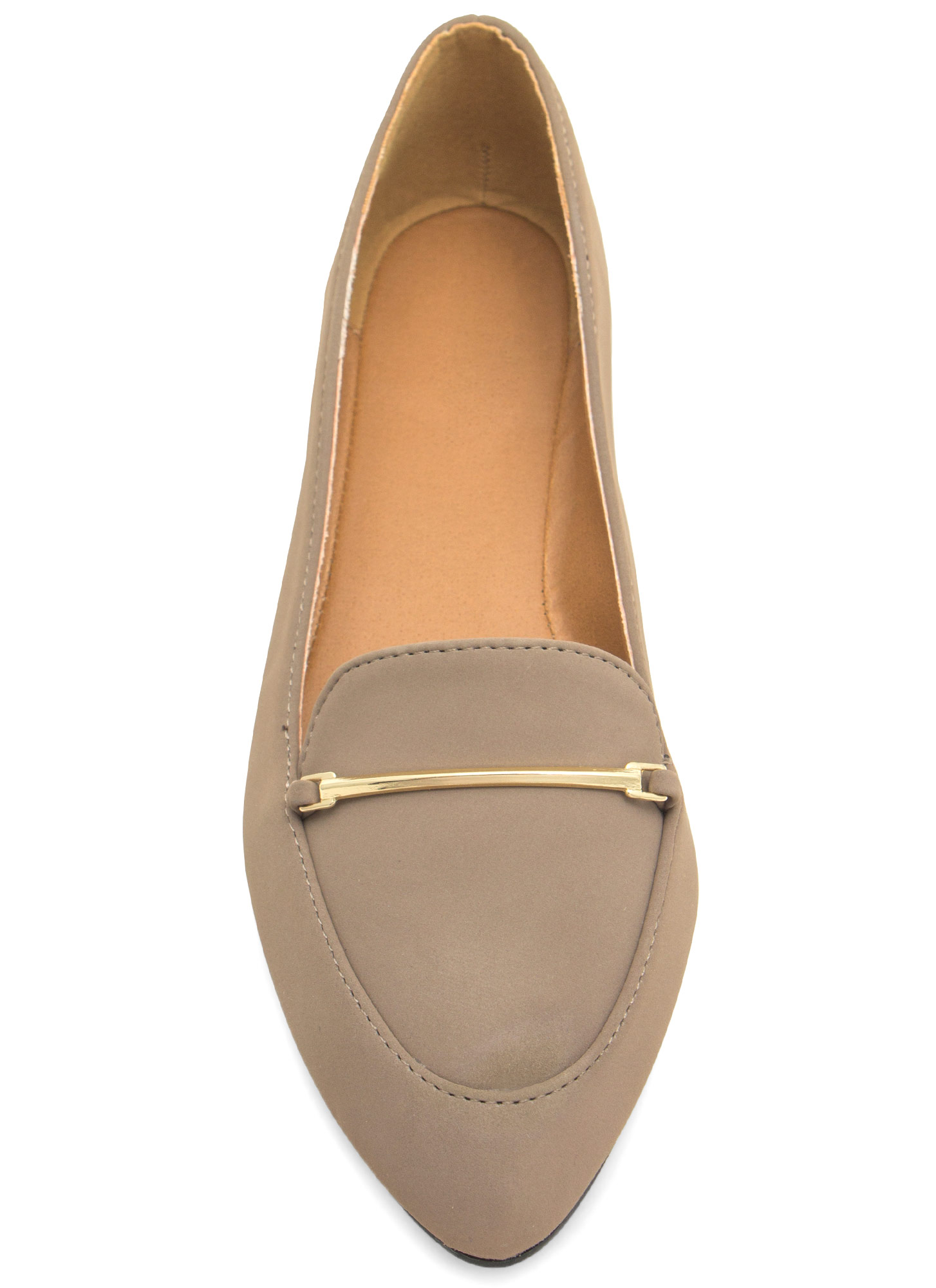 Raising The Bar Smoking Flats TAUPE