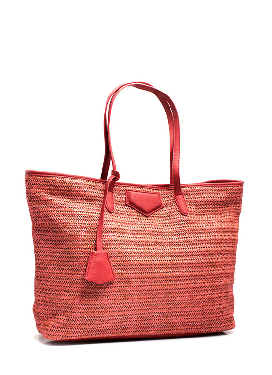 Oversized Beach Totebag CORAL (Final Sale)