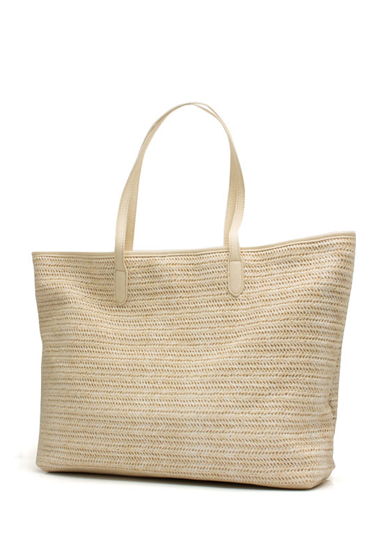 Oversized Beach Totebag CREAM (Final Sale)