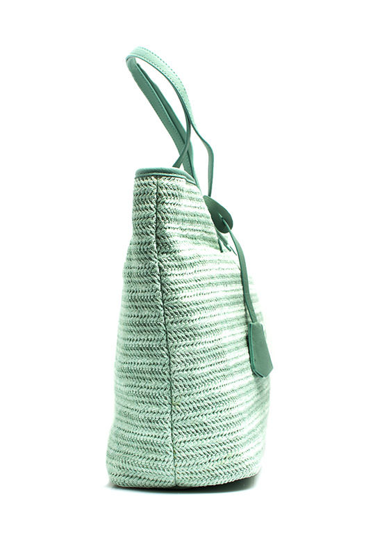 Oversized Beach Totebag MINT (Final Sale)