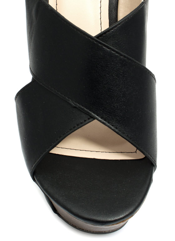 Buried Treasure Wedges BLACK