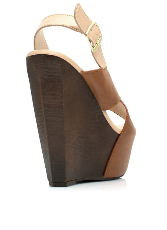 Buried Treasure Wedges CHESTNUT