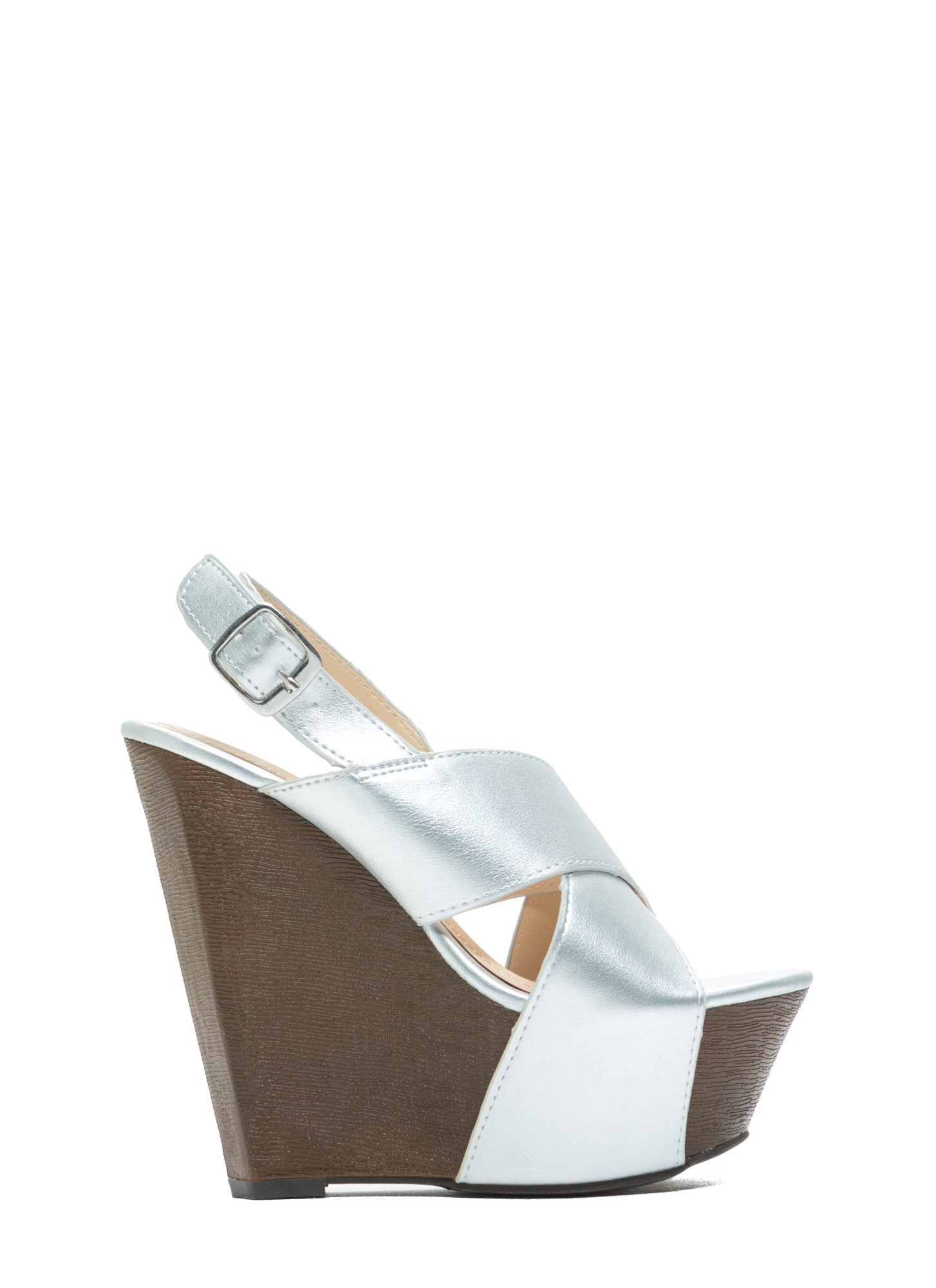 Buried Treasure Wedges SILVER