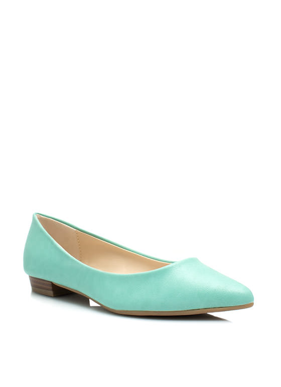 Straight Basic Pointy Flats MINT