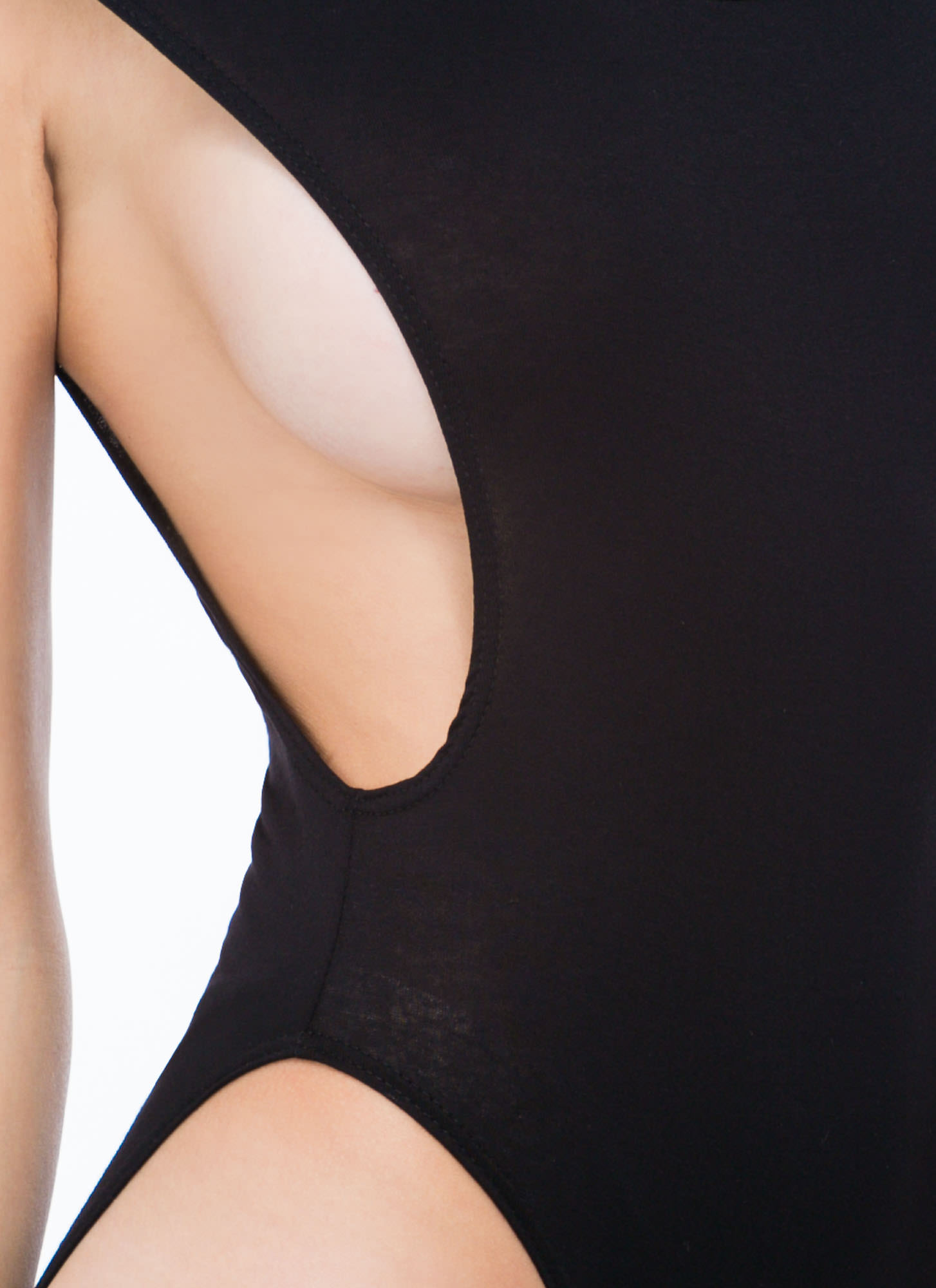 Basic Muscle Bodysuit BLACK
