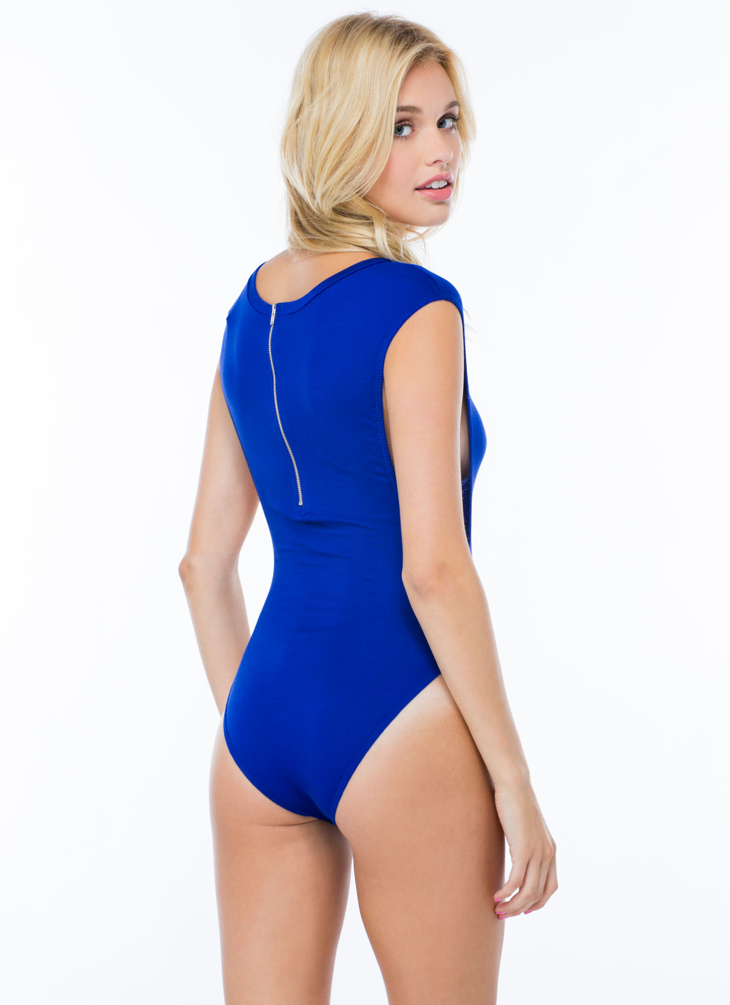 Basic Muscle Bodysuit ROYAL