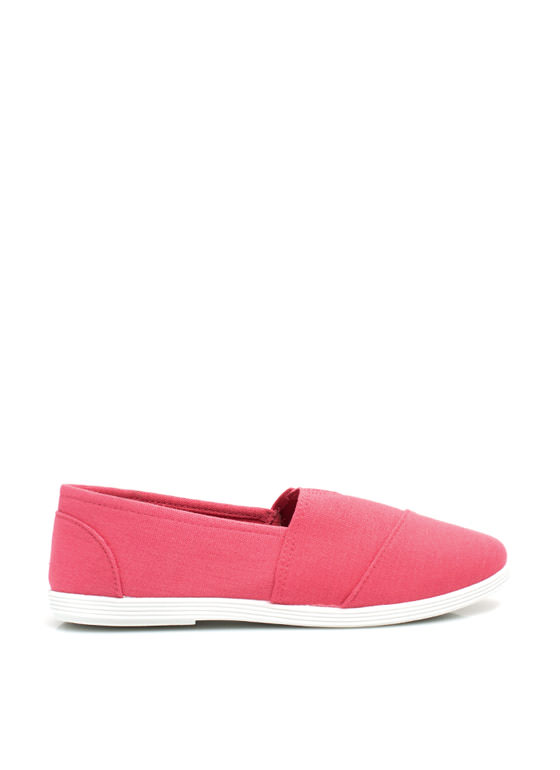 Keep It Simple Canvas Skimmers CORAL