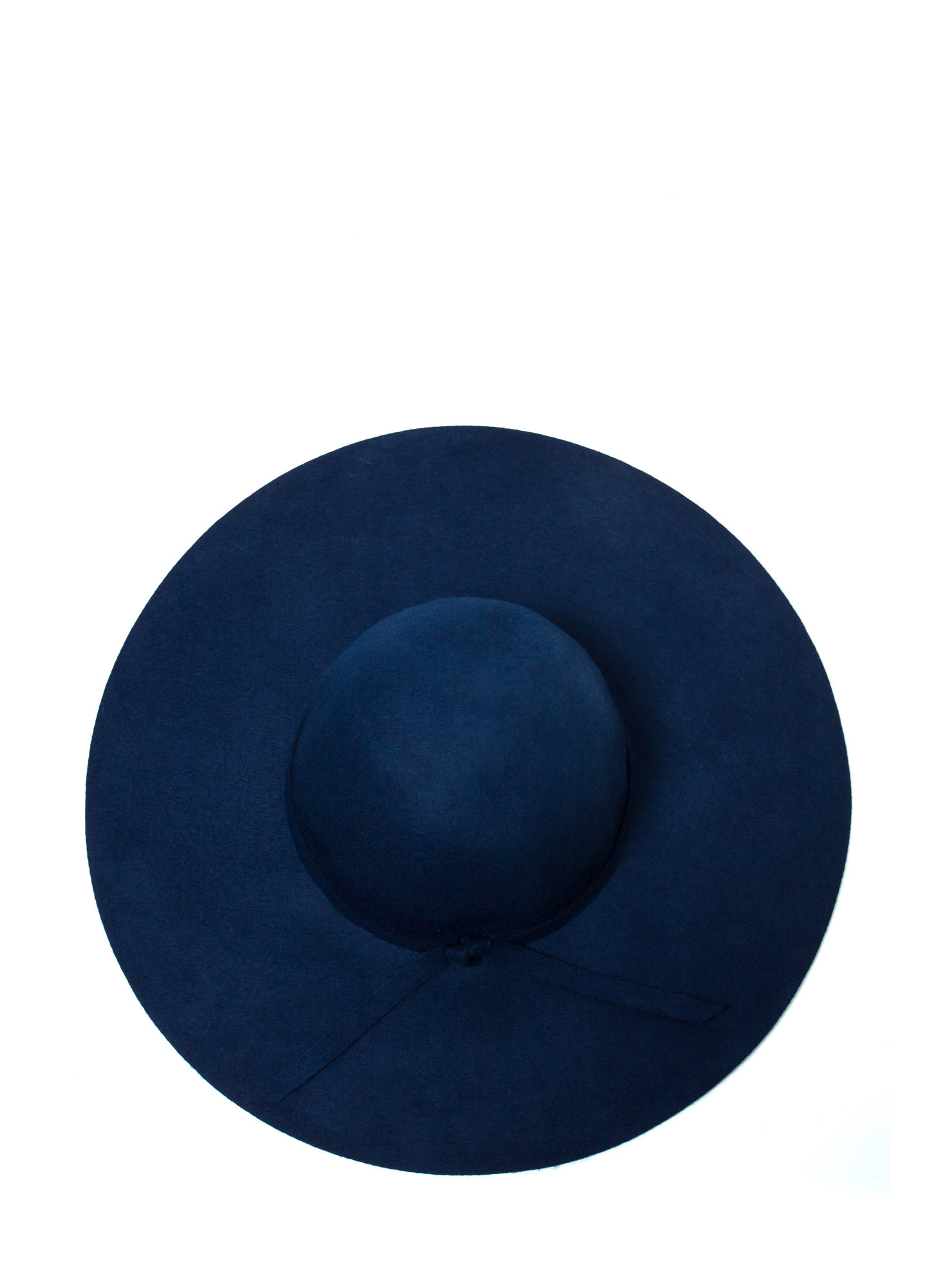 Wide Brim Wool Hat BLUE (Final Sale)