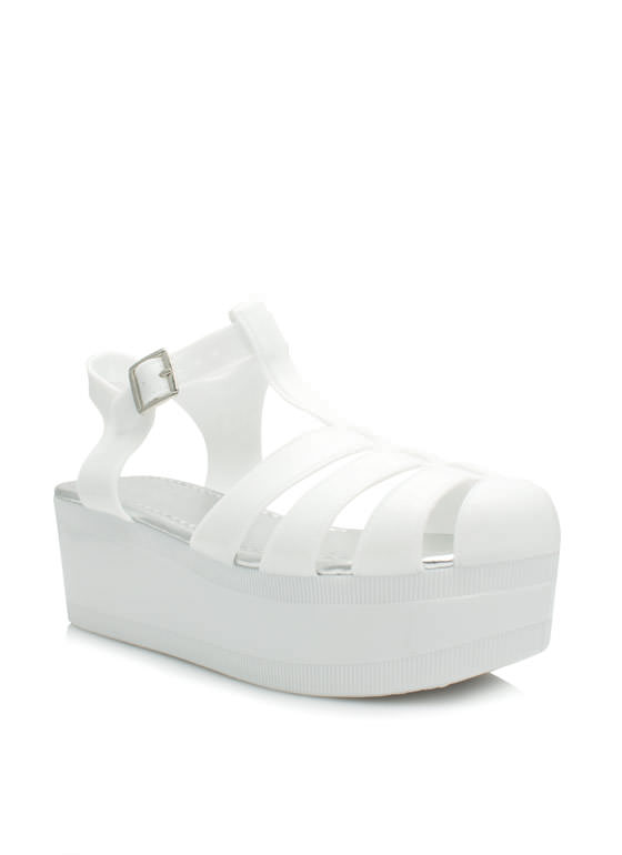 All Grown Up Jelly Wedges WHITE