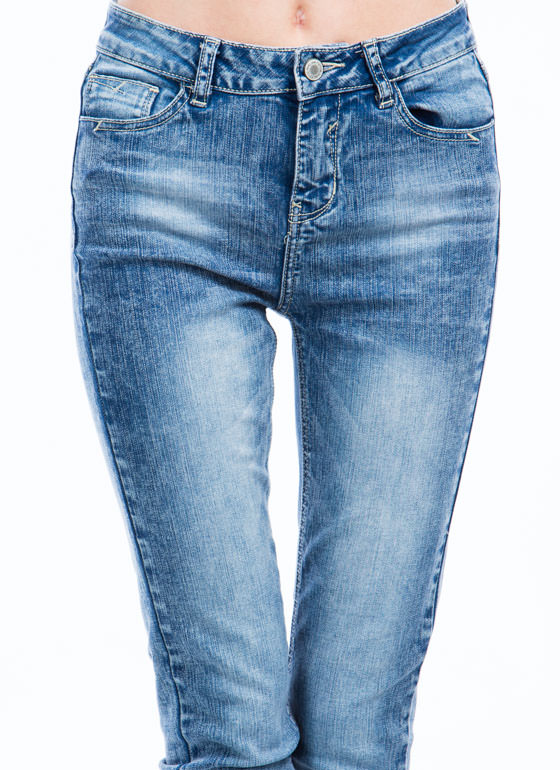 Not 4 Mom High-Waisted Skinny Jeans BLUE