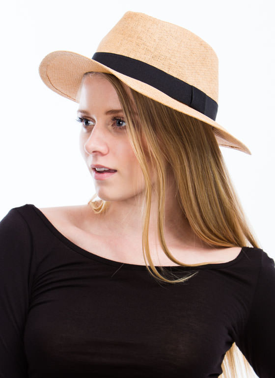 Wide Brim Fedora TAN (Final Sale)