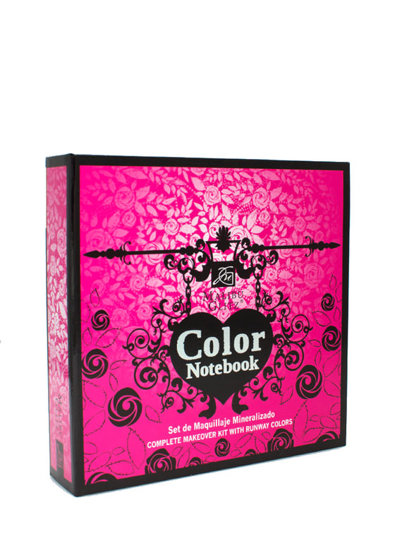 Color Notebook Complete Makeover Kit MULTI