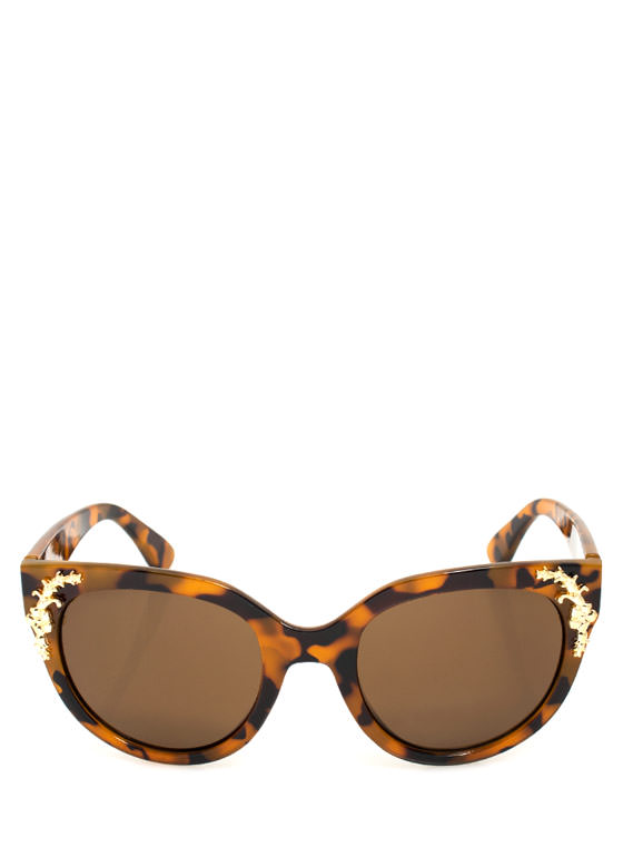 Touch Of Filigree Sunglasses LTTORTGOLD