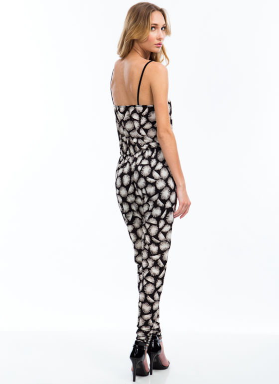 Starburst Onto The Scene Jumpsuit BLACK