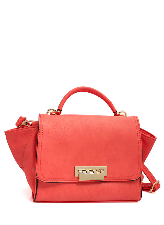 Mini Structured Handbag CORAL
