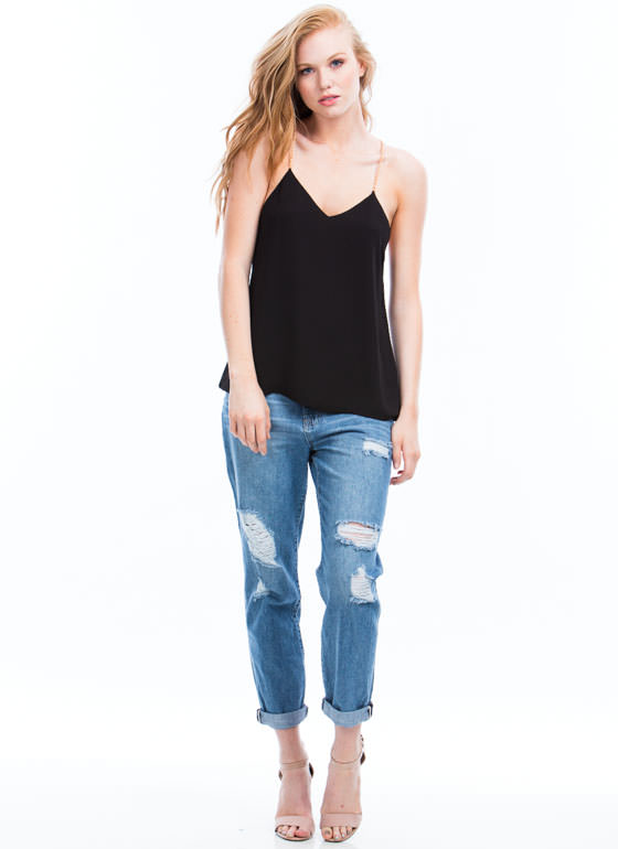 Chain-ge Of Pace Tank BLACK